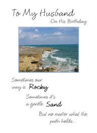 to my husband on his birthday 5 x 7 kjv greeting card melt