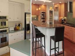 before and after inspiration remodeling ideas from hgtv unique apartment kitchen remodel before and after home ideas