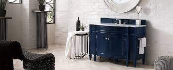 are blue cabinets trendy classic blue bathroom vanities a trendy yet timeless