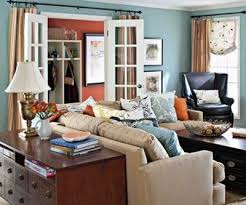 Blue And Brown Decor Coolest Blue And Brown Living Room With Additional Living Room