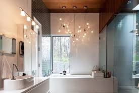 Bathroom Lighting Contemporary 25 Ways To Decorate With Bathroom Light Fixtures Top Home Designs