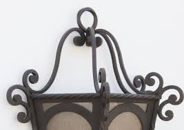 Lantern Style Outdoor Lighting by Lights Of Tuscany 7035 2 Spanish Style Hand Forged Wrought Iron