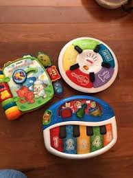cuisine vtech vtech rhyme discover book baby einstein piano lights sound