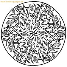 interesting graphic set of mandala coloring pages right just for