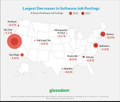 Map Of Colorado Cities And Towns Glassdoor 10 Best Cities For Getting A Tech Job Beyond Silicon Valley
