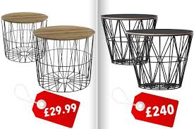 Lidl Garden Chairs Everyone Is Going Crazy For Lidl U0027s Trendy Tables That Are 200