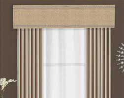 Contemporary Cornice Custom Cornice Board Valance Box Window Treatment Custom