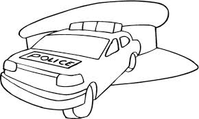 police car coloring pages coloringsuite com