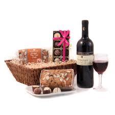 Wine And Chocolate Gift Baskets Wine And Chocolate Birthday Hamper Birthday Hamper Exclusive Hamper
