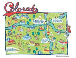 Map Colorado by Denver Post U2022 Colorado Map Series U2014 Esther Loopstra