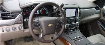 Chevy Tahoe 2014 Interior 2015 Chevrolet Tahoe First Drive Autoblog