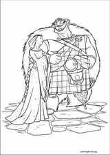 brave coloring pages coloringbook org
