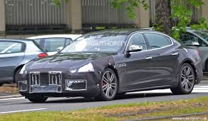 maserati granturismo blacked out 2018 maserati quattroporte spy shots