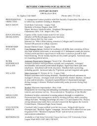 Define Resumed Chronological Resume Definition Template Billybullock Us
