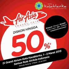 airasia travel fair kota kasablanka on twitter airasia travel fair 3days only promo