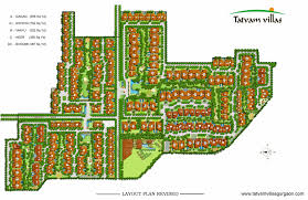 plan layout tatvam villas layout plan master plan sector 48 sohna road