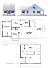 Katrina Cottages Floor Plans 01 Page