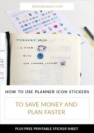 printable tv stickers how to use planner icon stickers to decorate and speed up your planning