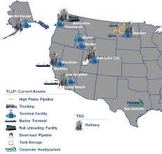Alaska Pipeline Map by Tllp 10k 12 31 2012