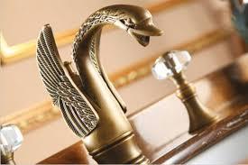 Swan Bathroom Faucet Online Get Cheap Brass Swan Lavatory Faucet Aliexpress Com
