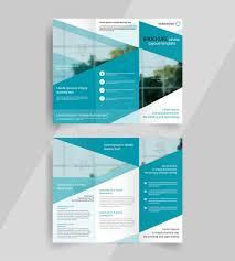 fold brochure template business tri fold brochure layout design emplate stock vector