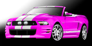 a pink mustang 2010 sema preview 2011 mustang concepts