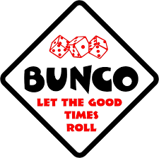bunco party beechmont womans club bunco party july 26th 7 9pm beechmont