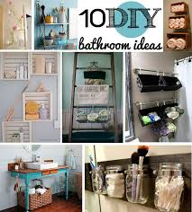 diy ideas for bathroom diy bathroom decorating genwitch