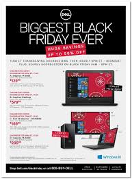 dell black friday 2017 sale ad laptop deals blackfriday