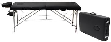 portable massage table aluminum