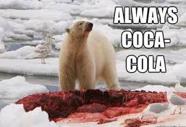 Coca Cola Meme - always coca cola funny bear meme picture