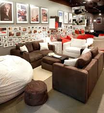 Media Room Sofa Sectionals - leather media sectional sofa centerfieldbar com