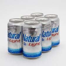 natural light natural light beer 12oz can 6 pack beer wine and liquor