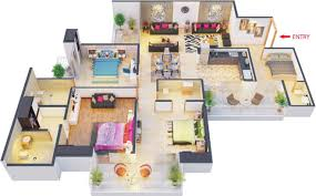 1900 Square Foot House Plans 1900 Sq Ft 3 Bhk 3t Apartment For Sale In The Antriksh Group Urban