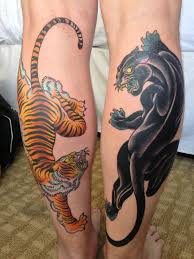 simple calf tattoos 12 calf tattoo designs you won u0027t miss tigers leopards and tattoo