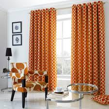 Orange Curtains For Living Room Oh Orange Eyelet Curtains From Net Curtains Direct