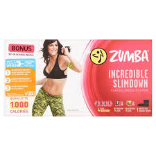zumba steps for beginners dvd zumba incredible slimdown cardio dance system walmart com