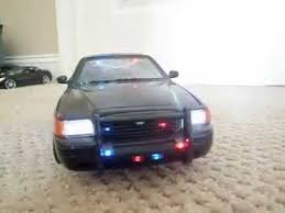 car led lights for sale for sale my 1 18 black undercover custom police car with working led