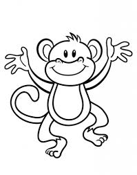 the stylish along with gorgeous monkey coloring pages to print