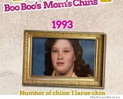 Boo Meme - the evolution of honey boo boo s mom s chins meme collection