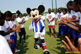 disney and soccer help haiti rise from earthquake rubble