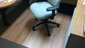 Exercise Floor Mats Over Carpet by Laminate Flooring Chairmat Diy