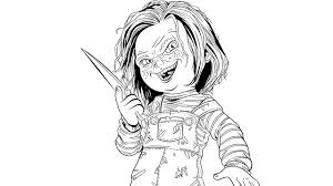 killer croc coloring pages 15 images of chucky scary clown coloring pages how to draw a