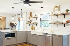 open shelf kitchen cabinet ideas 15 clever ways to add more kitchen storage space with open shelves