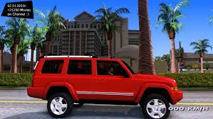 red jeep commander jeep comander 2010 gta san andreas 1440p 2 7k youtube