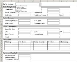 enhance worksheet form usability with vba and combobox controls