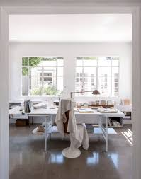 All White Home Interiors Diy Paint Designer Michaela Scherrer Mixes Her Own Shades Of