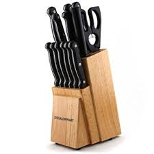 professional kitchen knives set amazon com megalowmart professional 14 stainless steel