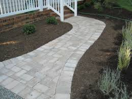 Concrete Paver Patio Designs by Paver Walkway Crafts Home