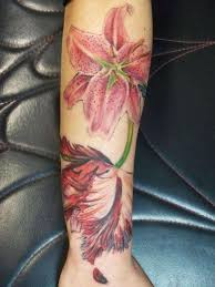 forearm orchid tattoos creativefan
